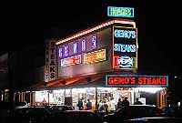 Geno's At Night